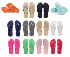 ORIGINAL HAVAIANAS SLIM WOMENS LADIES FLIP FLOPS COLOURS THONGS SANDALS SHOES