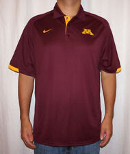 NWT Nike Minnesota Golden Gophers Mens Dri-Fit Training Polo Shirt $55