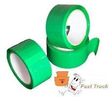 GREEN COLOURED Packing Parcel Tape 50mmx66m  *FREE PP*