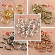 45678910MM, Metal Jump Rings Open Connectors Jewelry Make Findings
