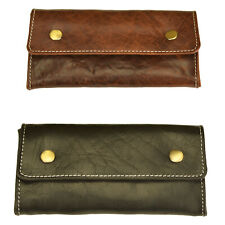 RFID Security Lined Leather Wallet. Quality Full Grain Cow Hide Leather. 11007