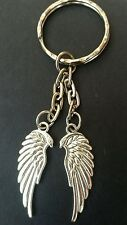 Eagle Angel wings, guardian angel  keyring, keychain, bag charm, double sided