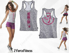 Zumba Fitness ~ Sexy WONDER RACERBACK Tank Top ~ NEW NWT Workout Gear