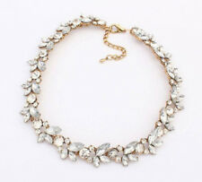 NEW Occident Style Fashion Shining crystal alloy charms clavicle necklace