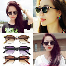 Unisex Vintage Retro Women Men Glasses Mirror Lens Eyewear Sunglasses Fashion