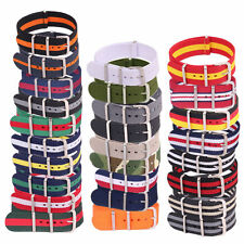 18mm 20mm 22mm Fiber Watchband Woven Nylon Bracelet Watch Strap Wristwatch Bands