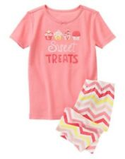 GYMBOREE SLEEPWEAR CUPCAKES Love Sweet Treats 2pc PAJAMAS 2T 4 5 6 7 12 NWT