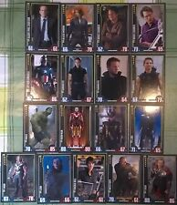 Marvel Cinematic Universe Hero Attax - Avengers - Select from #89 - #105