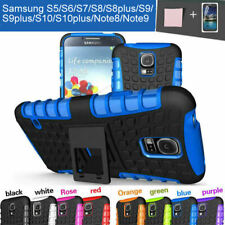 TPU Case Cover For Samsung Galaxy S5 Heavy Duty Tough Shockproof Kickstand Armor