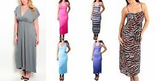 New Lot 6 Sexy Maxi DRESS Casual Cocktail Summer Sun Queen Plus Size XL 2X 3X