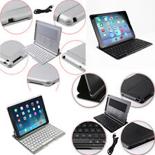 Backlit Wireless Bluetooth Keyboard Folio Leather Case Cover For Apple iPad Air