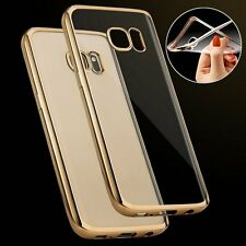 Plating Shockproof TPU Rubber Case Cover Skin for Samsung Galaxy S7 S6 Edge/Plus