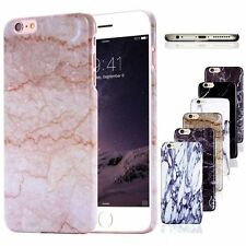 Thin Glossy Printed Marble Hard Plastic Case Cover for iPhone6&6s 4.7/Plus 5s SE