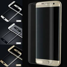 9H Full Curved Tempered Glass Screen Film Protector for Samsung GalaxyS6/S7 Edge