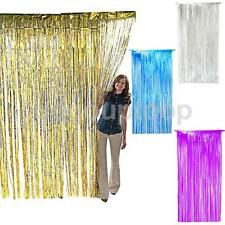 Shimmer Tinsel Foil Door Curtain Window Birthday Halloween Party Decoration