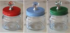 Mason Jar Lid with Acrylic Knob ~ Decorative Lid ~ Home Decor, Gifts, Party NEW