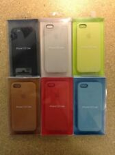 Authentic Apple iPhone 5/5s/5SE Aniline Leather Phone Cases - Multiple Colors!!