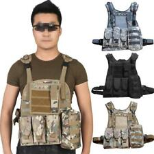 Military Airsoft Hunting Combact CS Tactical Vest Protective Cosplay Games Props