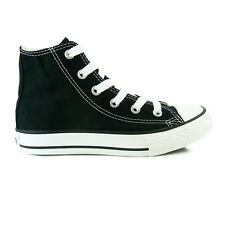 Youths Converse All Star Hi Black Trainers