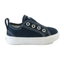 Infant Boys Converse Chuck It Slip On Athletic Navy Trainers