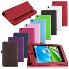 For Acer Iconia One 7 B1-730HD Tablet  Folio Luxury PU Leather Case Cover Stand
