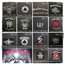 Motorhead Sew Iron On Patch Rock Band Heavy Metal Music Appliques Embroidered
