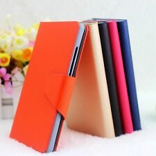 For Sony Xperia Acro S LT26w Lafite Vein PU Leather Flip Wallet Case Cover