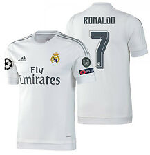 ADIDAS CRISTIANO RONALDO REAL MADRID AUTHENTIC HOME UCL MATCH JERSEY 2015/16