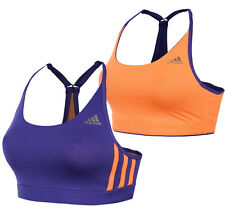 New Adidas Reversible Sports Bra Top - Ladies Womens - Gym Training Fitness