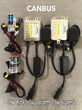 LOW BEAMS 9006 HB4 35W CANBUS M8 NO ERROR SLIM XENON HID KIT 07-08 FOR I-370