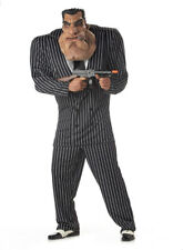 Brand New Adult Men Massive Mobster Gangster Mafia Costume