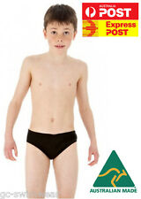 Boys Brief Endurance Swimwear Speedo Style | Australian Made | Training Swimsuit