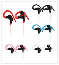 Sports Running Headset Headphone Super Bass Earphone for Universal CellPhone Lot