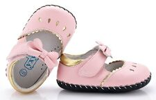 "YXY ""Bo Peep"" Pink Girls Leather Soft Sole Shoes 6 to 24 months Baby Toddler"