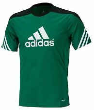 Adidas Youth SERENO Training Jersey Climalite S/S Sports Soccer Boy's GYM F49698
