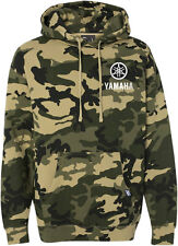 Factory Effex Official Licensed YAMAHA Camo Pullover Hoodie (Camo) Choose Size