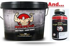 Ultimate Mass Gainer Pack - 4KG Anabolic Gainer PLUS Weight Gainer Capsules!