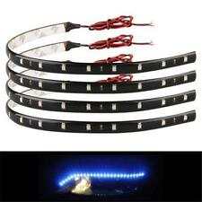 3colors 30cm SMD LED Strip Light Flexible Waterproof 12V DIY Car Decor New XW