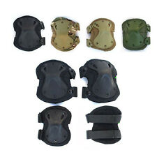 Military Tactical Airsoft Protective Skate Knee Pads Adjustable Knee & Elbow Pad