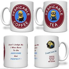 Despicable Tea Costa Coffee Personalised Printed Mug FREE DELIVERY
