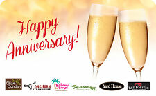 Darden Restaurants - Happy Anniversary Gift Card $25 $50 $100 - Email delivery