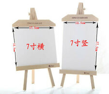 Wood 7 inch Table Easel Photo Frame Wedding Fashion Children Picture Frames