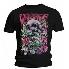 T-Shirt Bullet For My Valentine - Skull Red Eyes