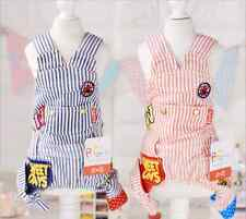 NEW Clothing For Dogs Puppy Pet Jeans Denim Striped Dog Pajamas Overalls Pants