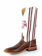Men's Anderson Bean HP1765 Horse Power A&M Brown Leather Western Cowboy Boots