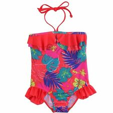 New Girl Kid One Piece Halter Floral Tankini Swimwear Bathers Swimmers Swimsuit