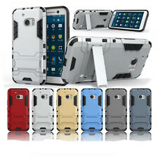 For HTC One M10 Armor Hybrid Rugged Shockproof Heavy Hard Stand Phone Case Cover