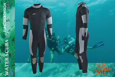 New 5mm Men Professional Dive Suit Scuba Diving Jump Surf Zipper Warm Wetsuits