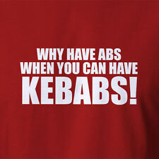 FUNNY KEBAB T-SHIRT Kebabs machine souvlaki grill sign shop neon ALL SIZES  5XL