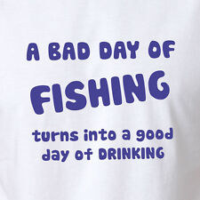 Fishing Beer T-shirt Men's Gift Clothing Fish Stubby Shirt Tee Tank top